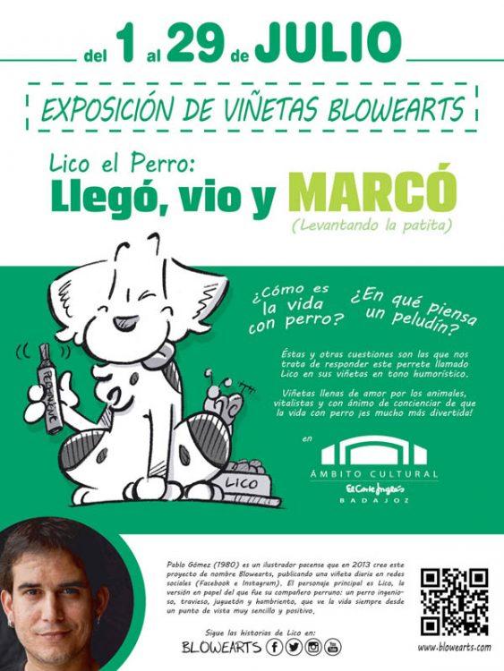 Cartel Exposición El Corte Inglés