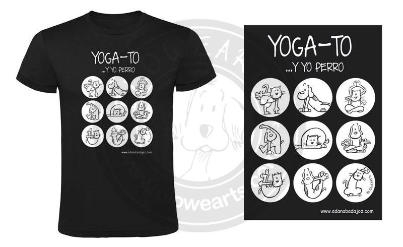 Camiseta YOGA-TO